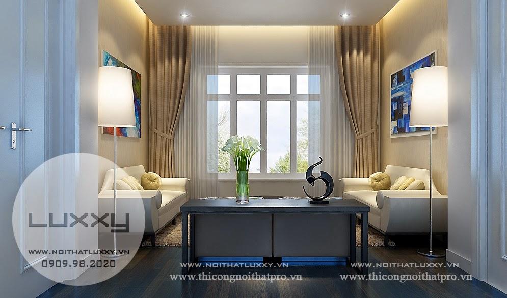 Thiết kế Biệt Thự đẹp song lập ở Vincom Village ở Sài Đồng