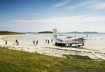 Foto Landasan Bandara Terunik dan Teraneh di Dunia