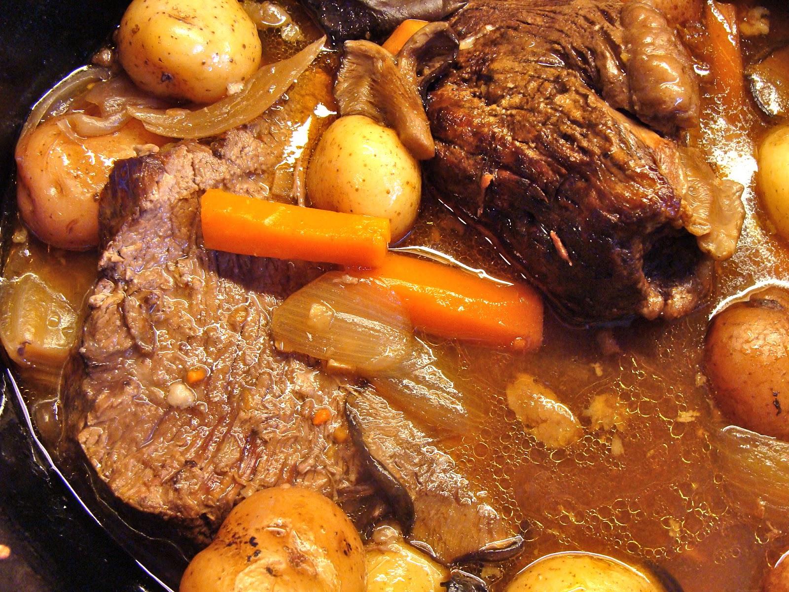 Beef Pot Roast Recipes — Dishmaps