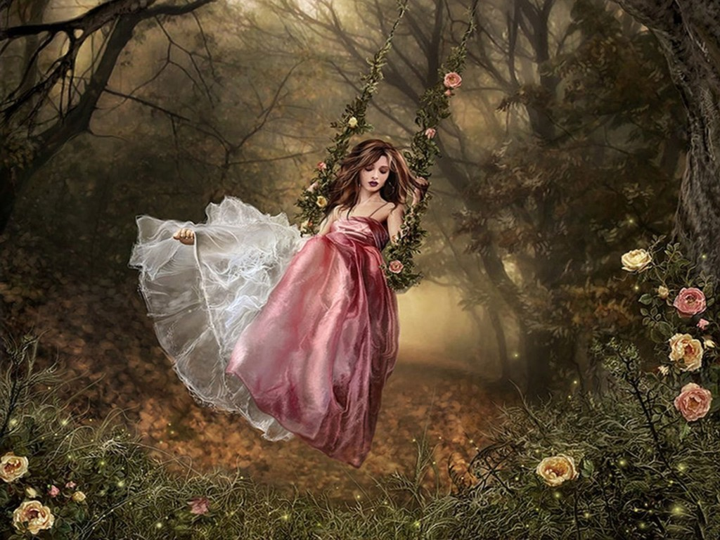 girl from a fairy - photo #2
