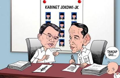 Daftar Nama Menteri Kabinet KERJA Presiden JOKOWI 2014