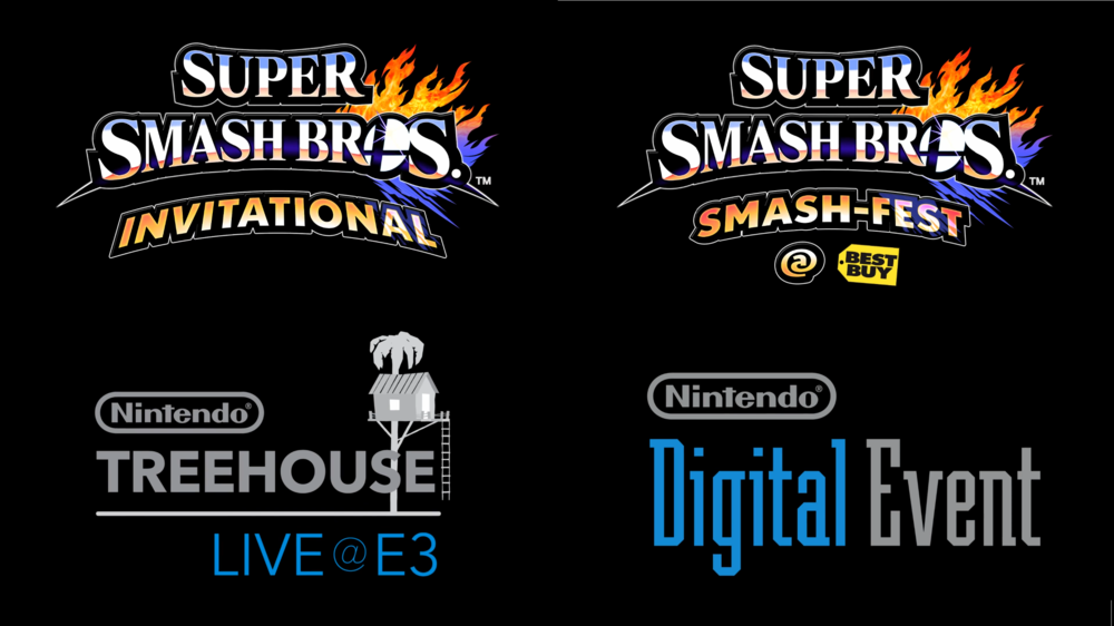 nintendo digital event super smash bros invitational