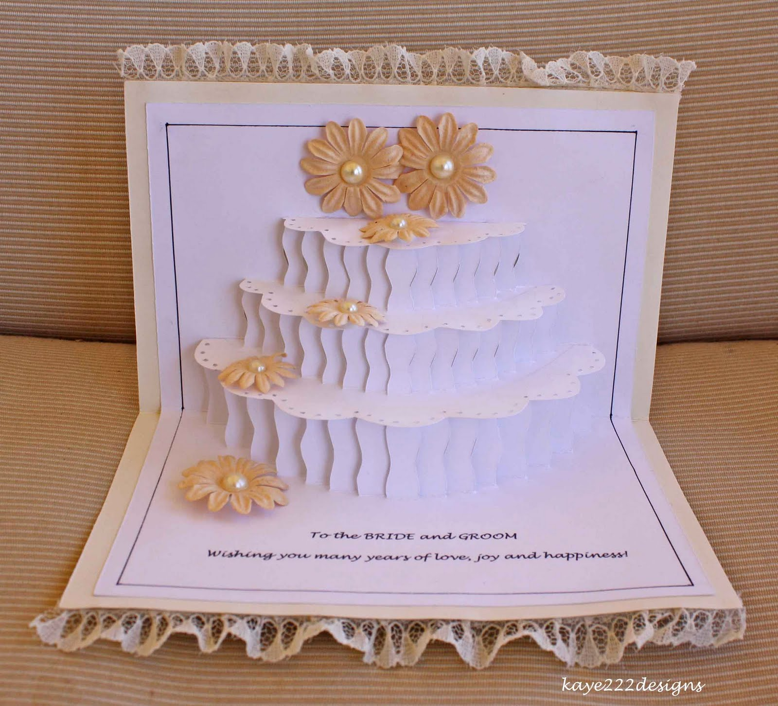 Wedding Cake Pop Up Card Wedding cake pop up card greeting by – Birthday Cake Pop Up Card Template