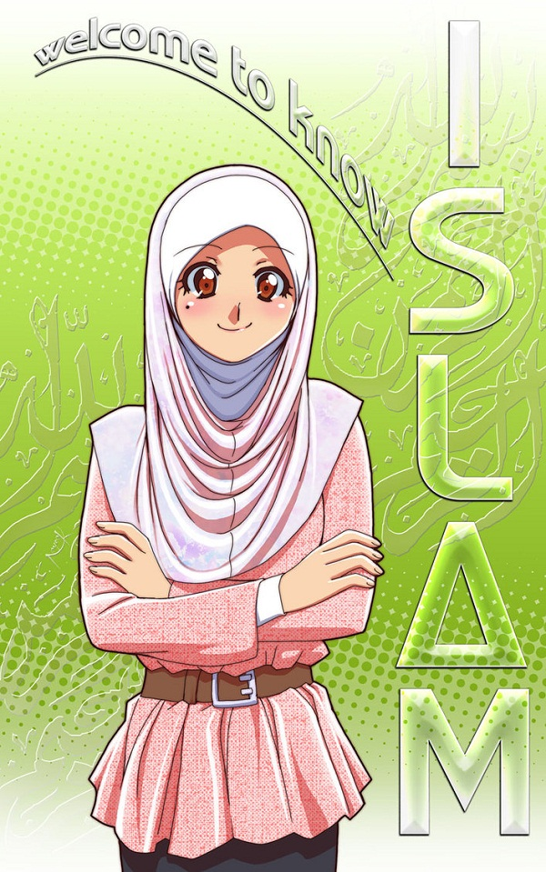 Cute Muslim Cartoon