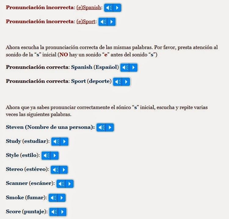 http://www.aprenderinglesrapidoyfacil.com/2013/02/13/pronunciacion-de-la-consonante-s-en-ingles-leccion-uno/