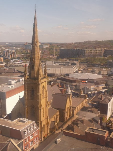 Sheffield, Catholic Cathedral, St Marie