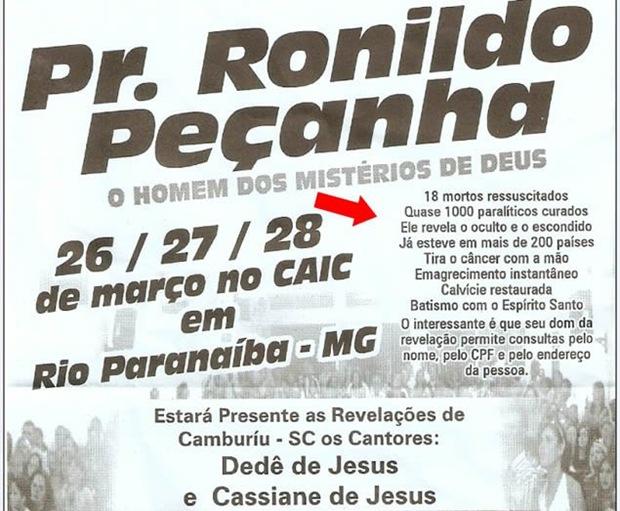 Resultado de imagem para pastor que revela cpf