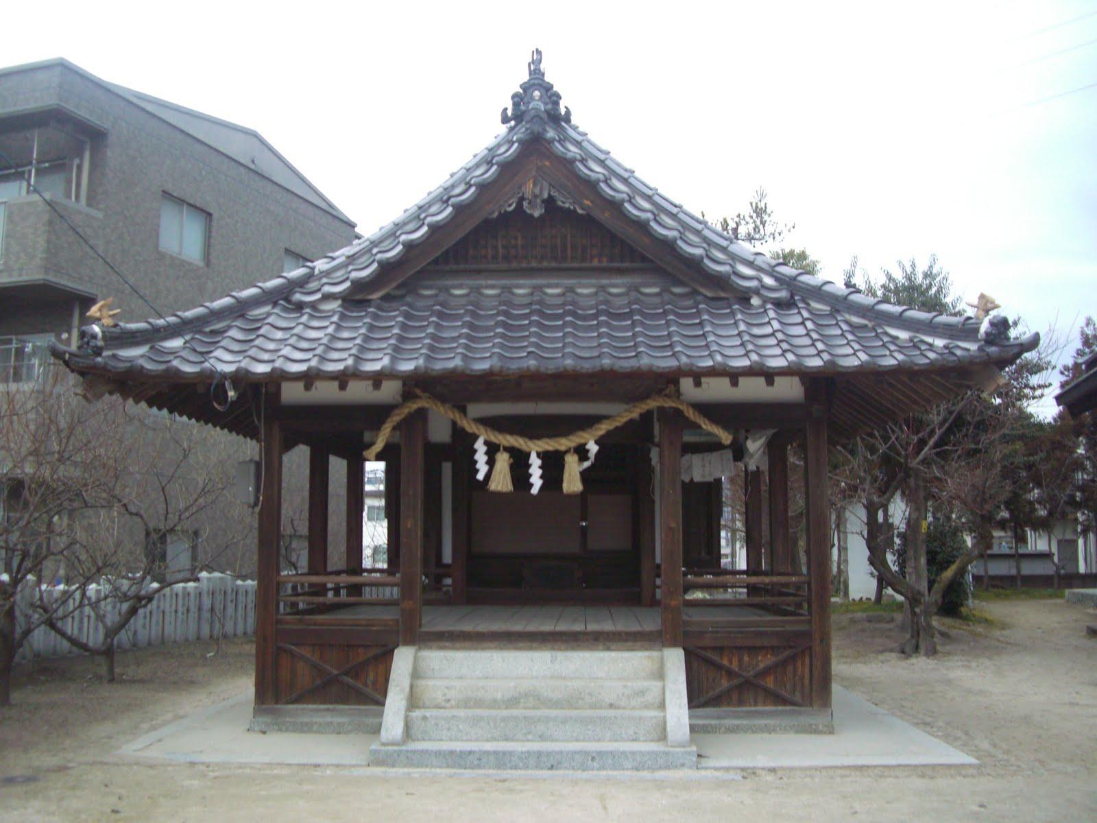 天満宮の拝殿