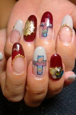 Glam-Chic-Fall-2012-Nail-Art-Designs-5