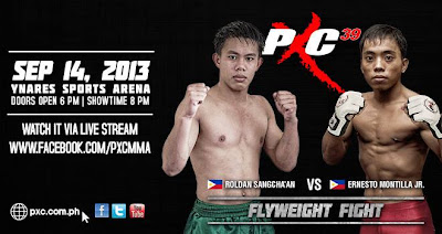 pxc-39-Roldan Sangcha'an vs Ernesto Montilla Jr
