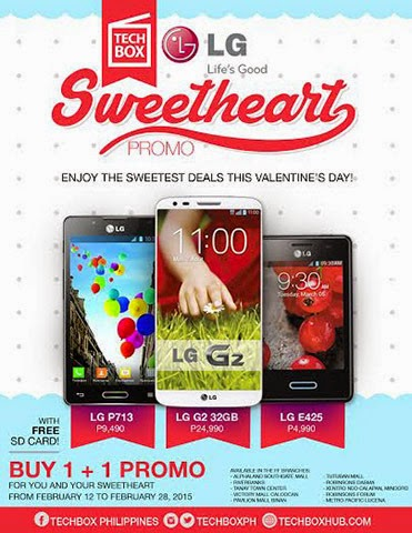 Get LG G2 Units at Techbox For As Low As P12,495 Each