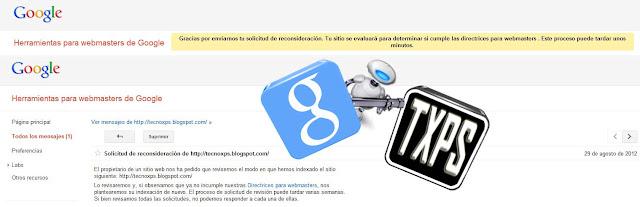 La solicitud de reconsideración en Google es una herramienta para solventar problemas de nuestro sitio web, SEO