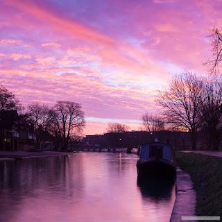 River Cam sunrise