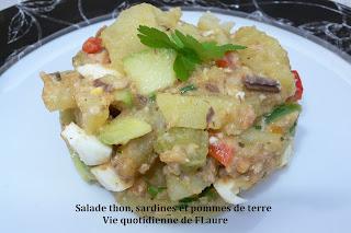 salade thon sardines et pommes de terre. Black Bedroom Furniture Sets. Home Design Ideas