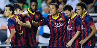 Video Gol Rayo Vallecano vs Barcelona 22 September 2013