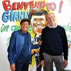 """L'abbraccio di Lecco e del """"Don Guanella"""" a Gianni Morandi"""