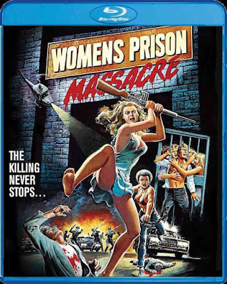 Women's Prison Massacre Blu-ray cover