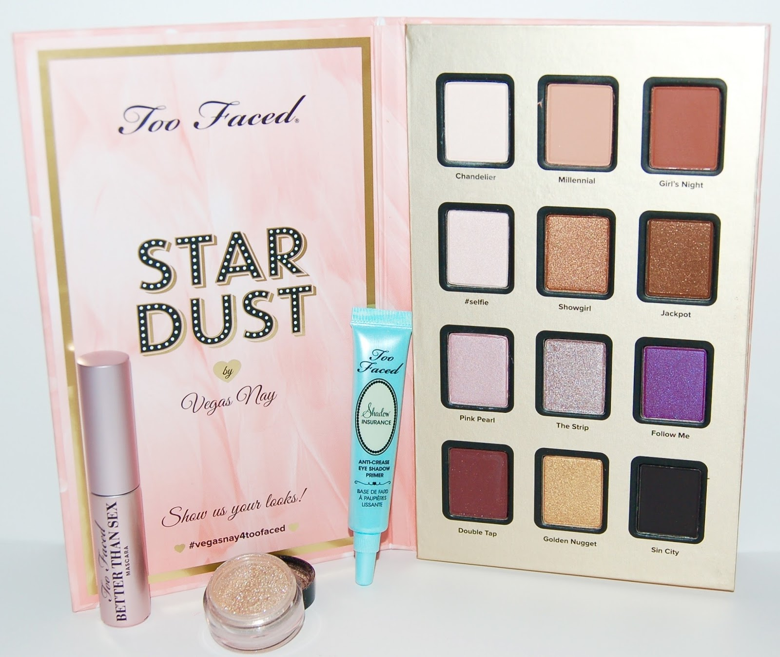 Too Faced Vegas Nay Stardust Eye Shadow Palette