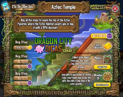 Ilha Asteca - 1.Templo Asteca