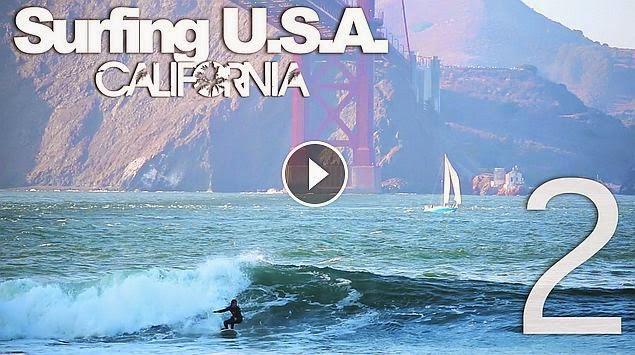 Surfing USA CALIFORNIA Part 2 - LuzuVlogs
