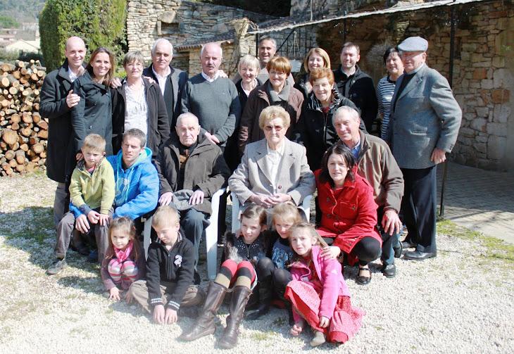 DOUBLE ANNIVERSAIRE POUR LA FAMILLE BAUME : 90 ans d'henri et 68 ans de mariage
