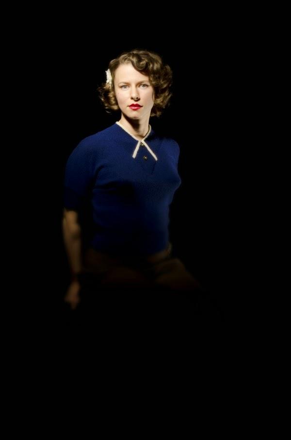 Vintage 1940s style portrait #1940s #vintage #photography