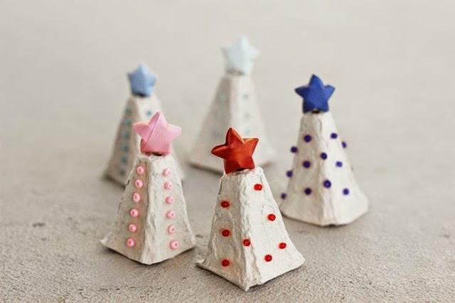 Preferenza Riciclo e lavoretto creativo per bambini per Natale con i cartoni  RU17