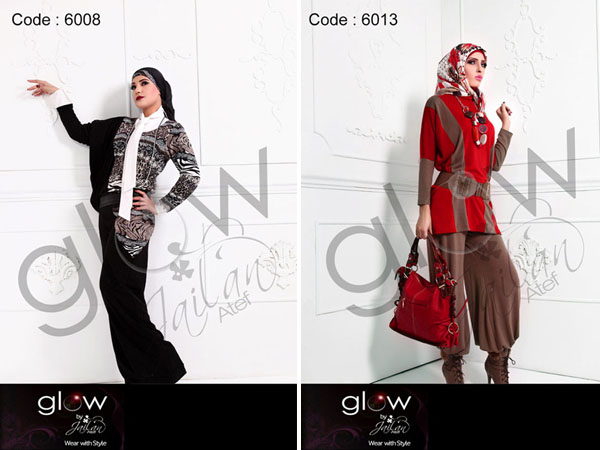 ازياء محجبات 2013 - ملابس شتوية للمحجبات - جيلان عاطف للمحجبات