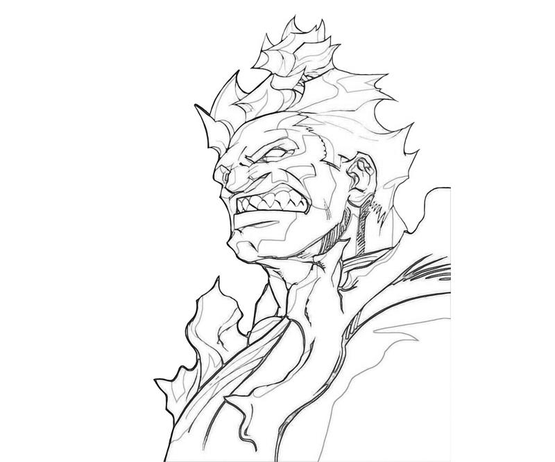 printable-marvel-vs-capcom-akuma-abilities-coloring-pages