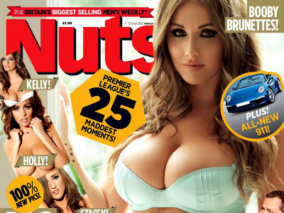 Gatas QB - Big Boobed Brunettes Nuts Magazine | Holly Peers, Kelly Hall, Lucy Pinder, Stacey Poole