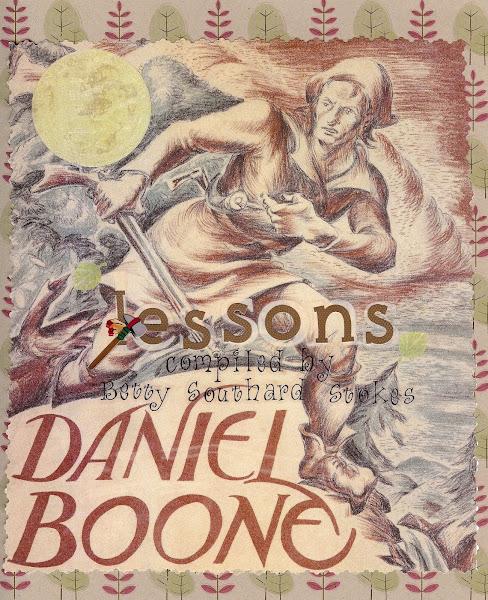 Daniel Boone lessons