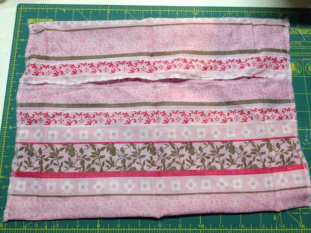 handmade toddler pillowcase