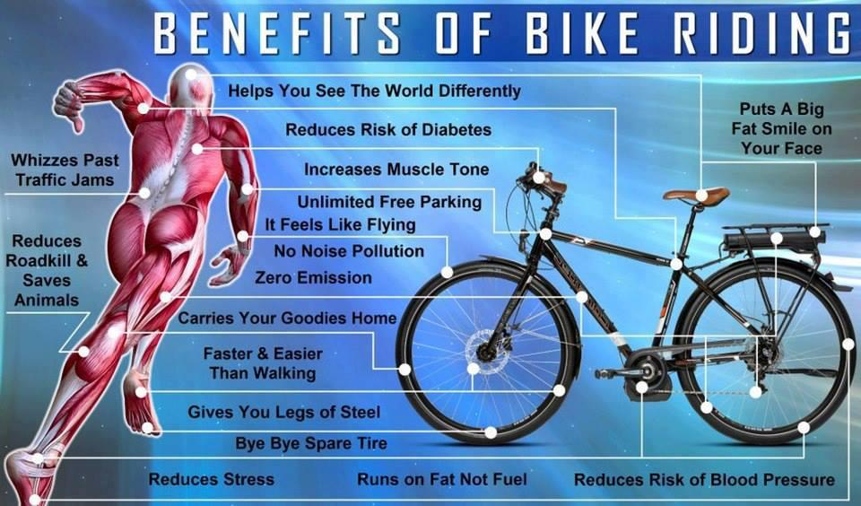 9ja IT professionals: THE NUMEROUS BENEFITS OF BIKE RIDING