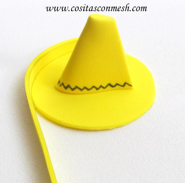 como hacer un sombrero de mexicano en foami como hacer un sombrero de