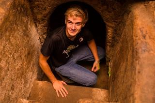 Cu Chi Tunnel underground trech