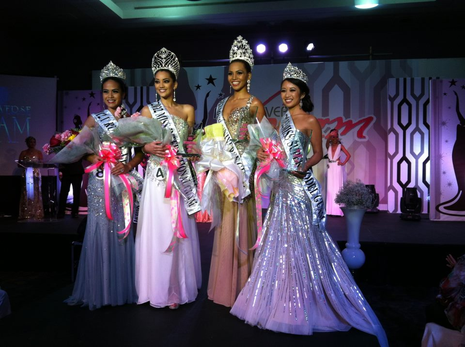 Miss Universe Guam 2012 top 5 winners