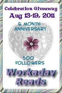 Celebration Giveaway at Workaday Reads
