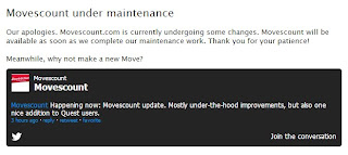Movescount upgrade