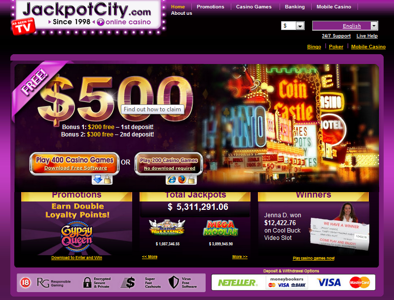 jackpotcity casino download
