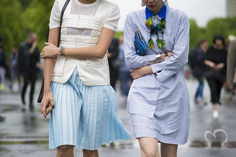 mitograph Yoyo Lu Sherry Shen After Ann Demeulemeester Paris Mens Fashion Week 2014 Spring Summer PFW Street Style Shimpei Mito
