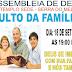 Culto da Família é Nesta Quarta Participe !! !! !!