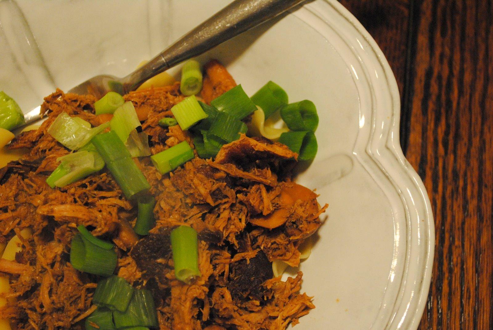 Decorating the Elevator: Crock Pot Asian Pork with Mushrooms