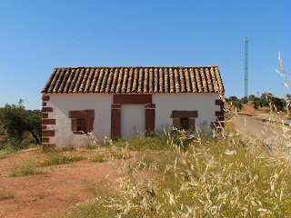 roadside building, rural Spain
