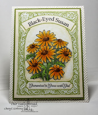 Stamps - Our Daily Bread Designs Seed Packet, Daisy