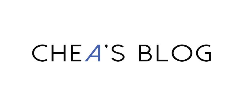 Chea's blog