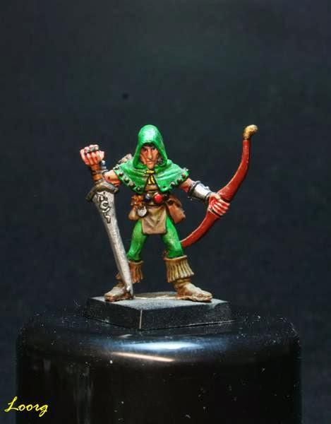Los Arqueros de los Elfos Silvanos de Skarloc