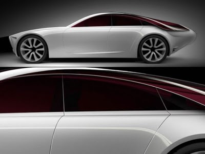 art conceptcar 2017 Alfa Romeo Executive Fastback Saloon