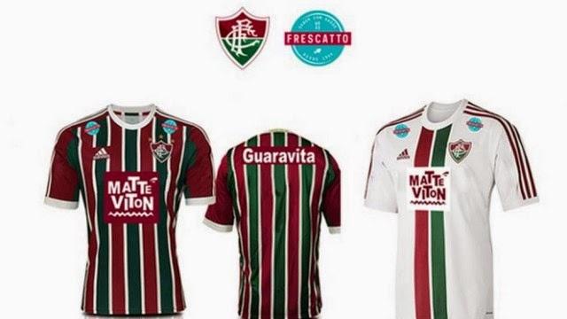 Piada Pronta: Novo patrocinador do Fluminense é a FRESCATTO