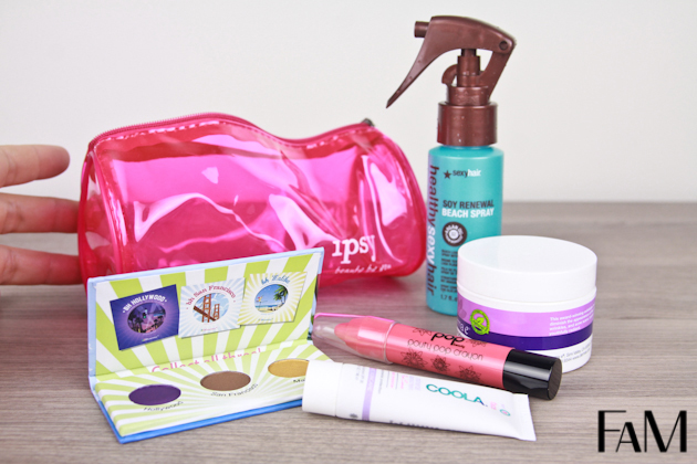 Ipsy MyGlam bag July 2013