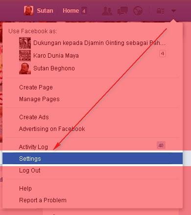 Curiga Akun Facebook Anda Dipergunakan Orang Lain? Pastikan dengan cara berikut
